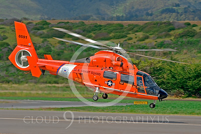 US Coast Guard Eurocopter HH-65 Dolphin Military Helicopter Pictures