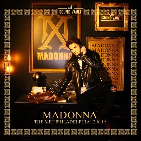 Citi Sound Vault x Madonna - Philadelphia, PA