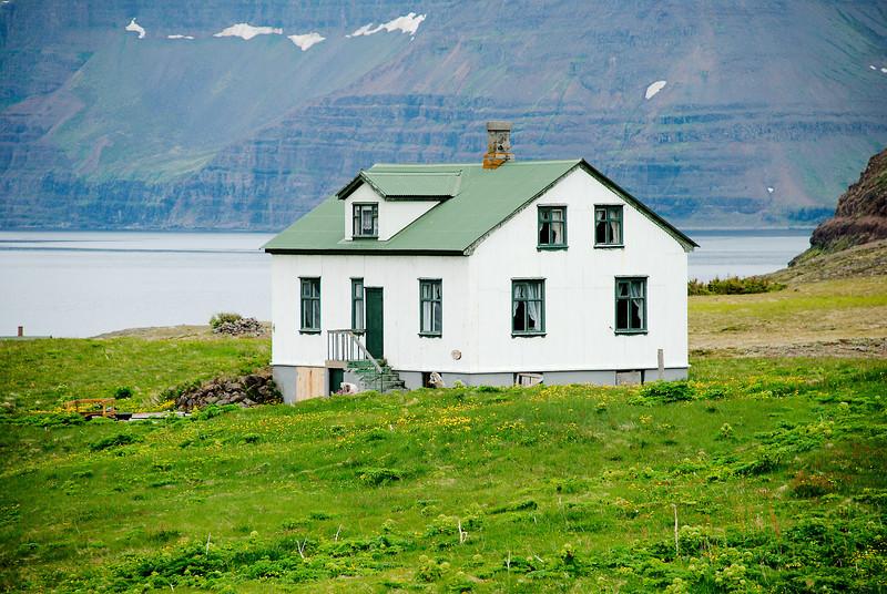 Aðalvík - Þverdalur. Faktorshús. 2012.