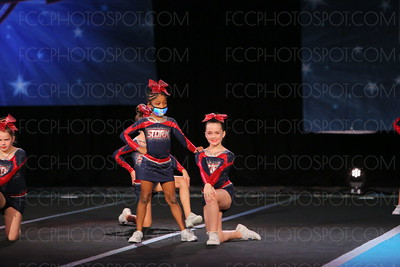 11. Providence Christian Hurricanes Lilburn GA Sapphire - Small Youth