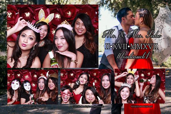 Carrel and Krista Wedding Photobooth