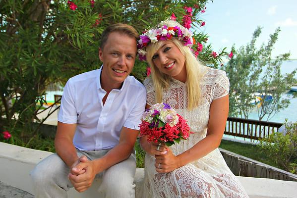 Dag & Mette | Destination Wedding | St. Francis Resort | Exuma, Bahamas