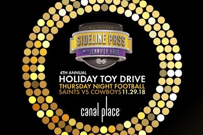 Sideline Pass Toy Drive 11/29/18