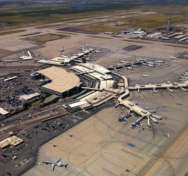 The Salt Lake City airport.