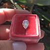 2.01ct Antique Pear Shape Diamond GIA G VS1 24