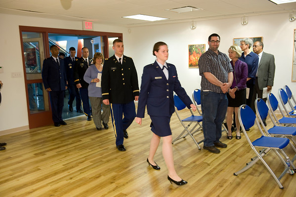 2011 ROTC Commissioning Ceremony