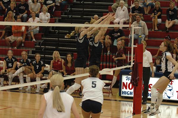 Var Volleyball vs Platteview, 9-14-06