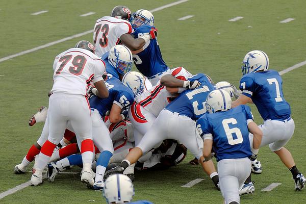 St. Xavier Varsity Football vs. Cleveland Glenville 09/08/2007