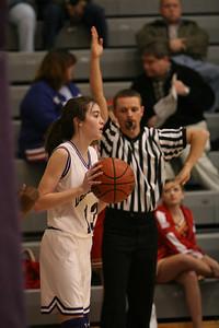 Darlington Middle School Girls Basketball 12-08-2005