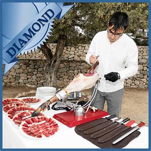 40306 Spanish ham cut by maestro cortador Diamond