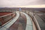 Allein auf dem Grand Canyon Skywalk