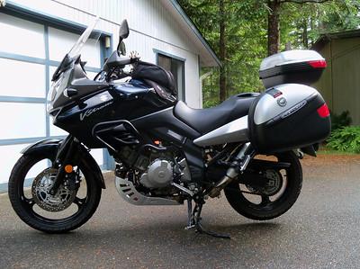 Our new Suzuki V Strom