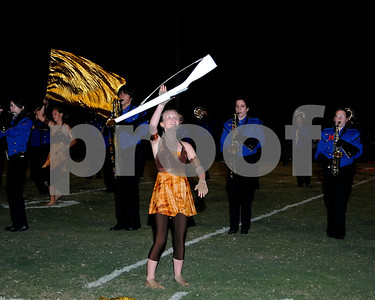 Marshall County Marching Marshals Performing at Halftime Of The Mayfield Football Game, September 23, 2011.