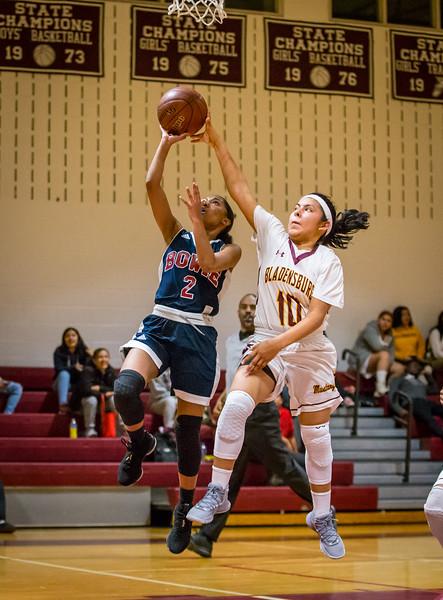 HS Girls Basketball 2018: Bowie vs. Bladensburg