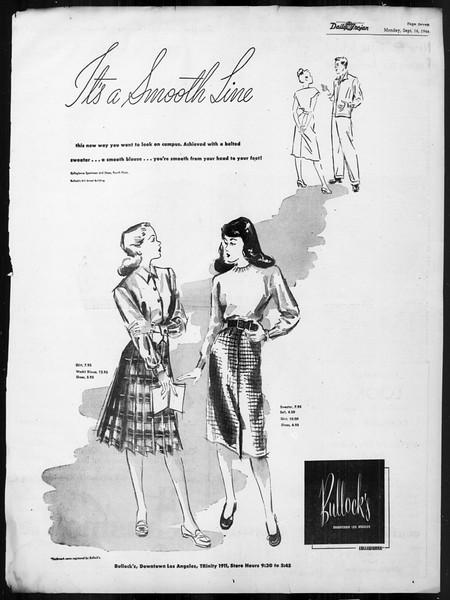 Daily Trojan, Vol. 38, No. 1, September 16, 1946