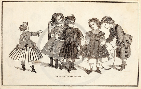Vintage People Children