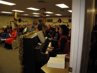 Ladies Christmas party 12-7-2009