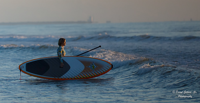 A Little SUP'ing at First Light