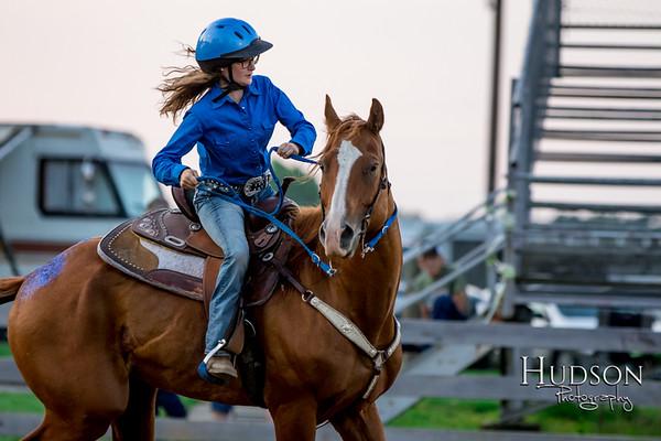 09. Pole Bending Horse  Sr. Rider