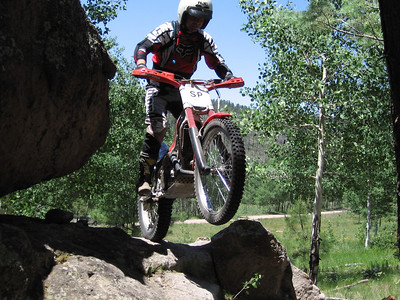 Jemez Mtns. - Lake Fork Canyon Trials Practice  6-24-07