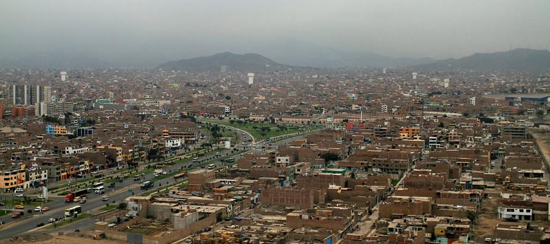 Landing in Lima