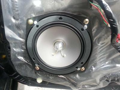 2005 Mitsubishi Lancer Evolution IX GSR (Japan import, right hand drive) Front Speaker Installation New Zealand