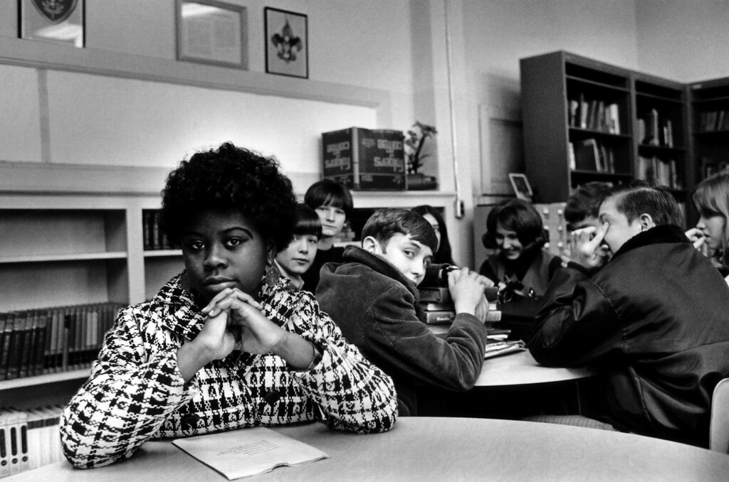 . FILE - This undated file photo, location unknown, shows Linda Brown Smith. Smith was a third grader when her father started a class-action suit in 1951 of the Brown v. Board of Education of Topeka, Kansas, which led to the U.S. Supreme Court\'s 1954 landmark decision against school segregation. Saturday marks the 60th anniversary of the landmark Brown v. Board of Education decision. Many inequities in education still exist for black students and for Hispanics, a population that has grown exponentially since the 1954 ruling.   (AP Photo, File)