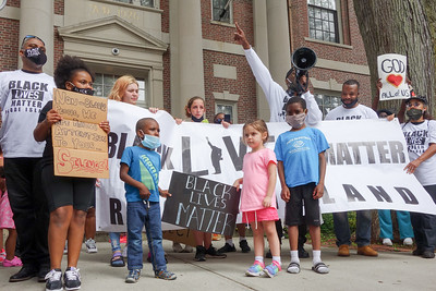 Black Lives Matter Newport, RI 2020