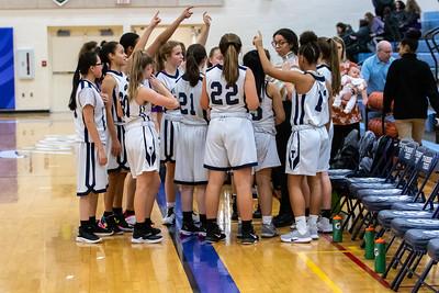 2020-01-22 -- Twinsburg Girls Junior Varsity Basketball vs North Royalton High School Junior Varsity Basketball
