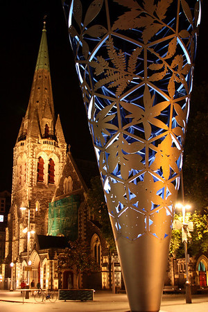 Christchurch at Night