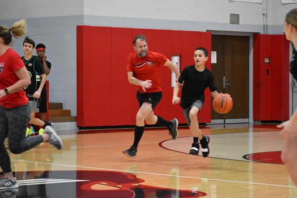 Faculty vs. 8th Grade Basketball Game (03/08/2019)