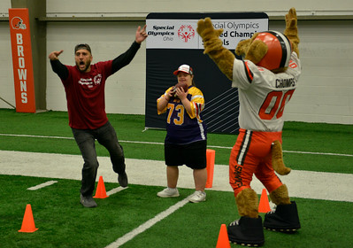 Cleveland Browns Host Special Olympics Unified Sports and Play Football! Clinic 9-24-2019