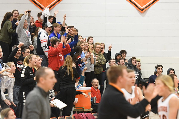 Student Crowd - Beatrice Basketball game