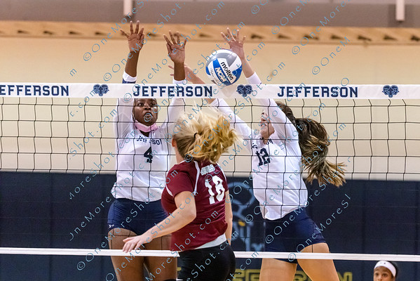 Jefferson Women's VOLLEYBALL vs USciences 09/21/2021