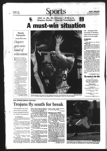 Daily Trojan, Vol. 151, No. 39, March 11, 2004