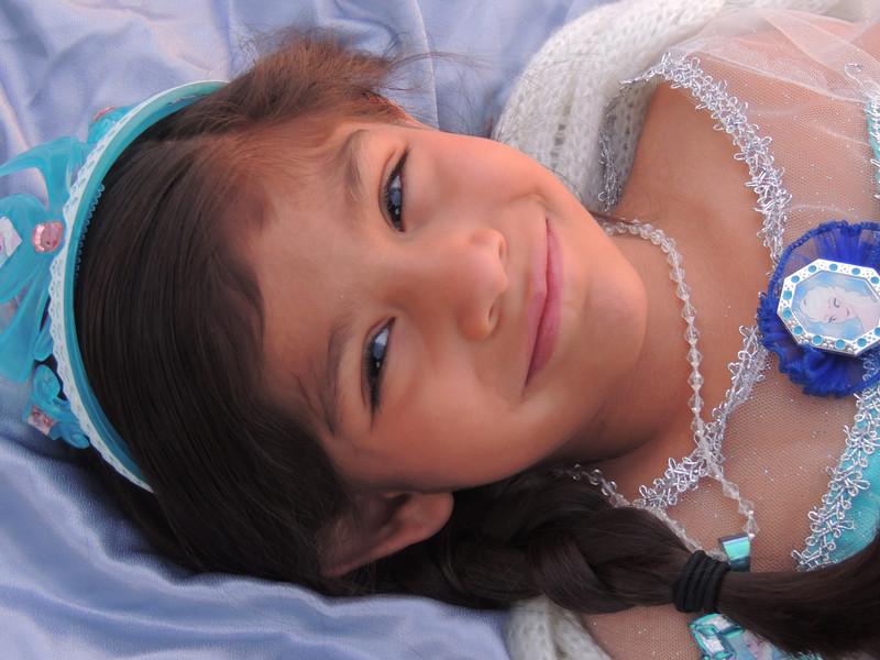 A Princess in Blue
