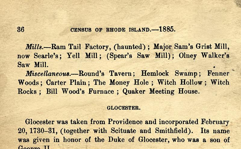 Rhode Island State Census, 1885