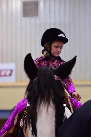 Youth leadline under saddle