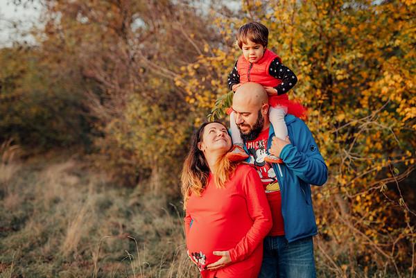 Sedinta Foto Maternitate - Petra, Pusa si Lucian