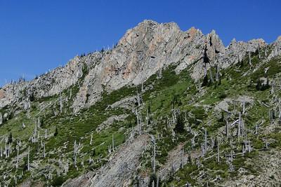 Mt. Whittier Traverse 2013/08/13
