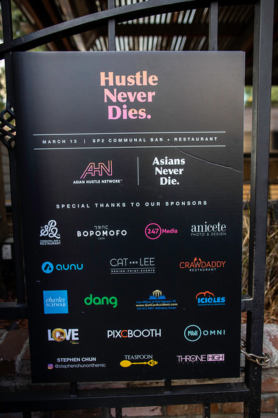 Asian Hustle Network - San Jose March 2020