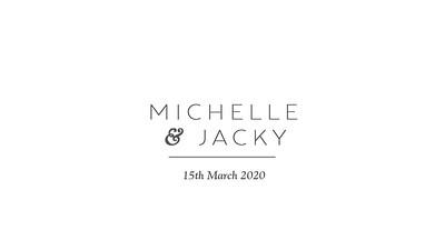 15.03 Michelle & Jacky