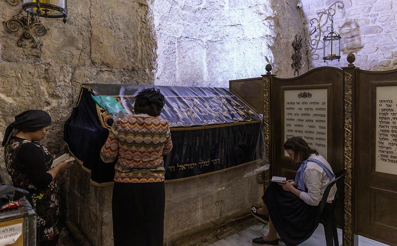 King Davids Tomb (women's section)