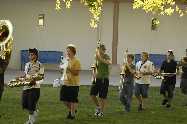 Band Camp Graduation 2008