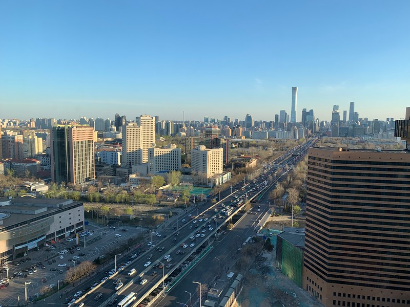 Day view from my room at Westin Beijing Chaoyang