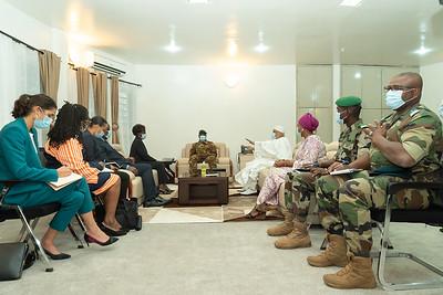 Audience avec le Colonel Assimi GOÏTA, Vice-Président de la Transition - Mali