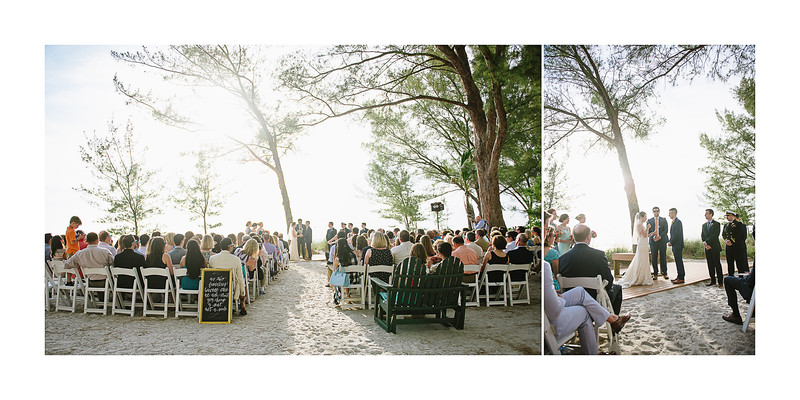 Sunset Beach House Wedding Treasure Island Florida