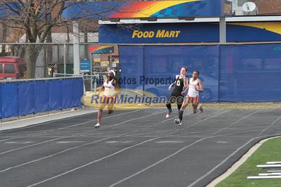 200 Meters - 2013 Oakland vs Detroit Track Meet