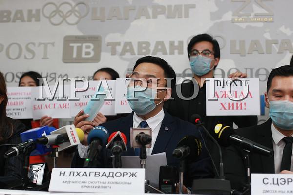 Монголын оюутан залуучуудын холбооноос коронавирусийн эсрэг шаардлага хүргүүллээ