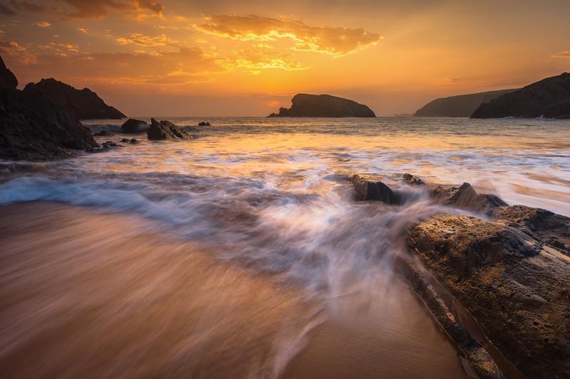 Arnia Beach, Soto de la Marina. Cantabria, Spain.